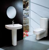 Bathroom Fitting with Water Tank and Seat Cover for European Country