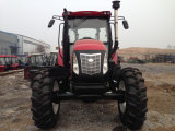 CE Approved 135HP 4WD Tractor at Most Competitive Price with Loadfer/Backhoe/Mower