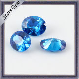 Different Color Oval Shape Cubic Zirconia Synthetic Gemstone