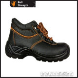 Basic Industrial Ankle Safety Shoe with Steel Toe Cap (SN1666)
