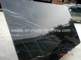 High Quality Nero Fantasy Black Marquina Granite Wall Decoration Slab