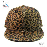 Custom Digital Leopard Print 6 Panel Blank Plain Snapback Caps