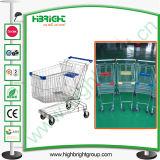 Metal Steel Supermarket Shopping Trolley Cart