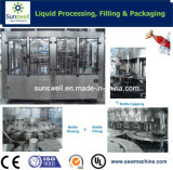 Soda Carbonated Soft Drinks Bottling Machine