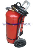 50kg Dry Powder Fire Extinguisher with External CO2 Bottle
