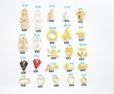 Crystal Rhinestones Nail Art Decoration 3D Charm Alloy Silver Gems Jewellery