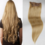 "16""18""20"" Silky Straight Human Hair Clip-in Hair Extension (27#)"