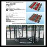 Hotel Entrance Aluminum Alloy Mat with Carpet Inserted