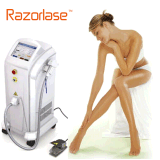 Newest in Motion Technology Painless 808nm Diode Laser Hair Removal Machine