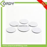 PVC material 125kHz em4100 disc RFID tag