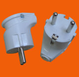 European Style Power Socket Plug with Earth (P8053)