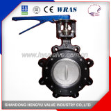 Carbon Steel Double Eccentric Butterfly Valve with Handlever