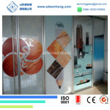 Hot Selling 3/8 Digital Printing Tempered Glass