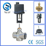 Electric Actuator Valve 2-Way Thread Motorized Valve for HVAC (VC-236T-32)