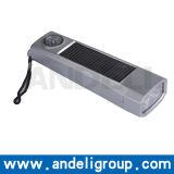 Mini Solar Torch or Solar Flashlight with White LED Lights