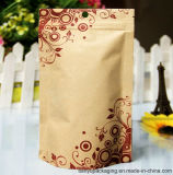 Ziplock Tin Tie Stand up Pouch for Food Packaging
