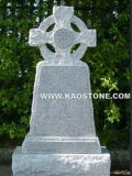 Irish Style White Granite Tombstone/ Headstone
