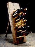 New Design Vintage Antique Wooden Bottle Holder for Wine Storage