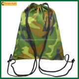 600d School Bag Sport Camouflage Drawstring Backpack Bag (TP-dB266)