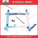 Heavy Duty Legs Adjustable Metal Bed Frame with Center Support and Glides Only