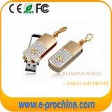 Custom Logo Crystal USB Pen Drive Flash Memory Stick (ES194)