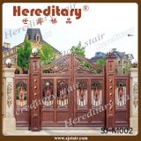 Outdoor Decorative Main Gate Designs for Homes Indian (SJ-M002)