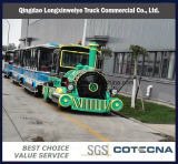 China Outdoor Electric Tourist Road Train for Sale