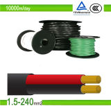 Double Core PV1-F 2X4mm2 Solar Cable for Solar System