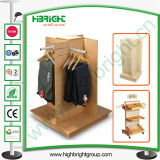Clothing Store MDF Display Hangers and Display Tables