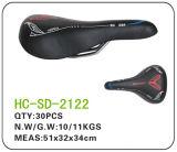 Leather MTB Saddle, Black (SD-2122)