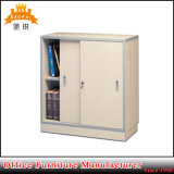 Half Height Knock Down Steel Office Furniture Sliding Door Small Metal Storage Cupboard Filing Cabinet
