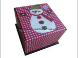 Customized Cardboard Christmas Gift Box (FAXH0002)