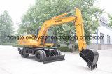 15t Wheel Excavator Manufacturer
