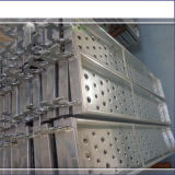 Galvanized Steel Plank for Scaffold& V Stiffener Metal Scaffold Plank