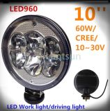 "CREE 9"" Driving Light 4X4 Round 60W LED Work Light"