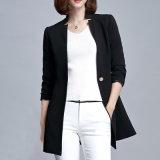 Lady Wear Factory Professional OEM New Design Ladies Black Suit