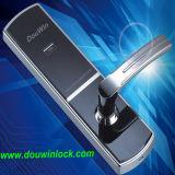 Fireproof RFID Hotel Smart Card Door Locks with Handles