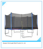 15FT Round Trampoline with 5 W-Shaped Legs for Whole Family to Stay Fit