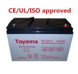 12V100ah Deep Cycle Gel Battery Sealed Lead Acid Npg100-12