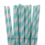 Pink Striped Chevron Polka DOT Paper Straws