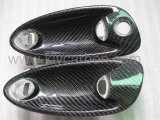Wrap Car Handle in Carbon Fiber