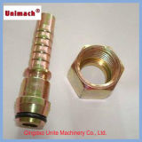 Male Staplelock Brass Fitting Mt SAE J1467 (67011)