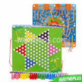 Wholesale Cheap OEM Unfinished Handmade DIY Wooden Educational Toys