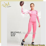 OEM Ladies Fitness Sportwear Workout Yoga Wear with Custom Color