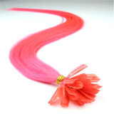 Pre-Bonded Hair Nail U-Tip Hair Extension 100% Real Human Hair