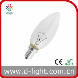 Special Bulb Candle Shape Rough Service C35 40W E14