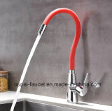 European Hot Selling Colorfull Universal Brass Single Level Basin Mixer /Kitchen Faucet Op35-1
