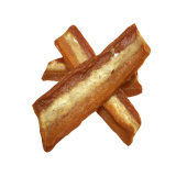 Natural Human Grade Chicken and Rawhide and Duck Slices Pet Snacks