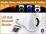 Wireless Remote Control Powered LED Bulb Light Bluetooth Speaker