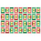 Bridge Boards Sticker N/S/E/W/Dealer Sticker 1-64 Sets